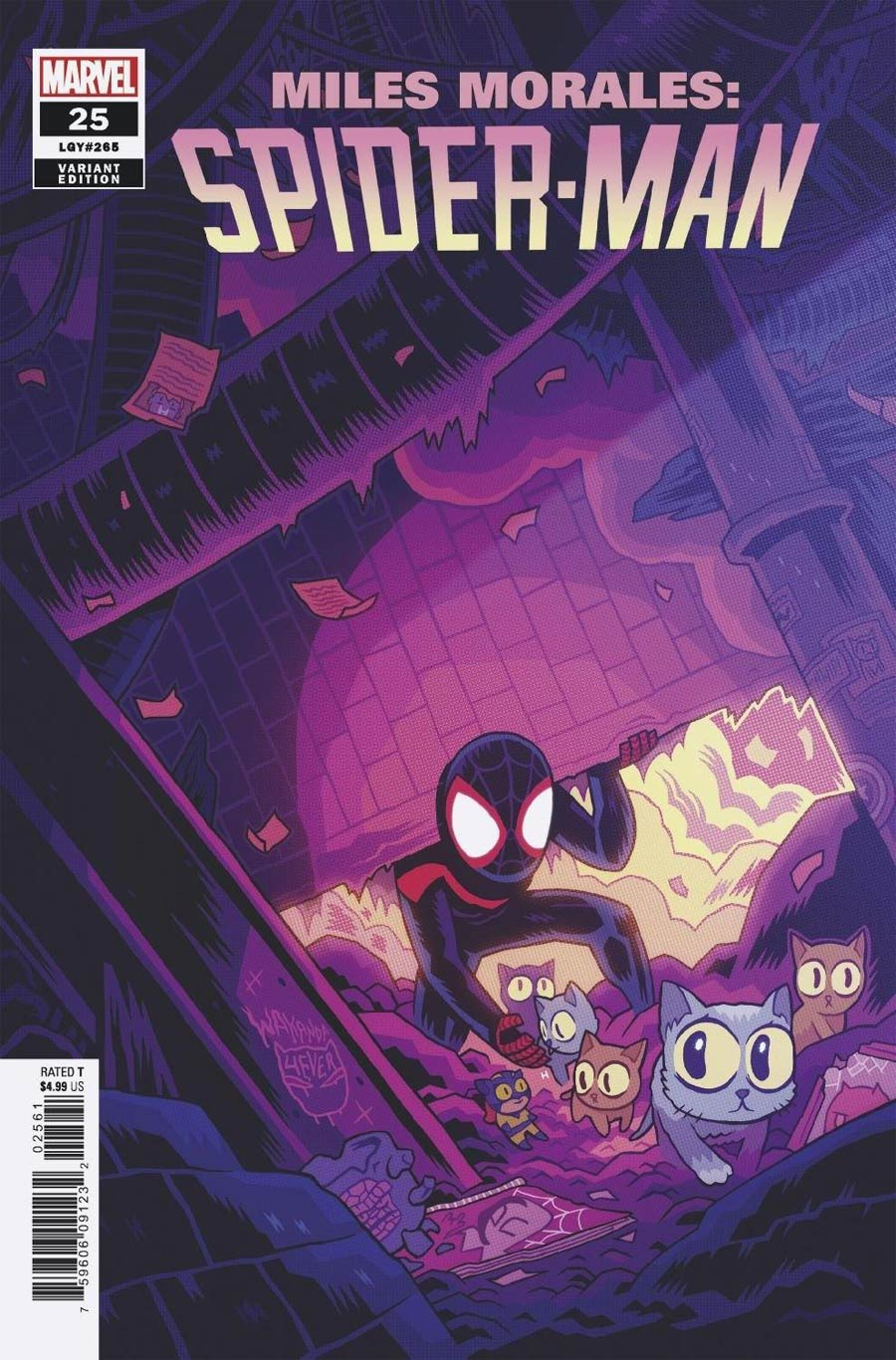 Miles Morales Spider-Man #25 Cover G Incentive Dan Hipp Variant Cover