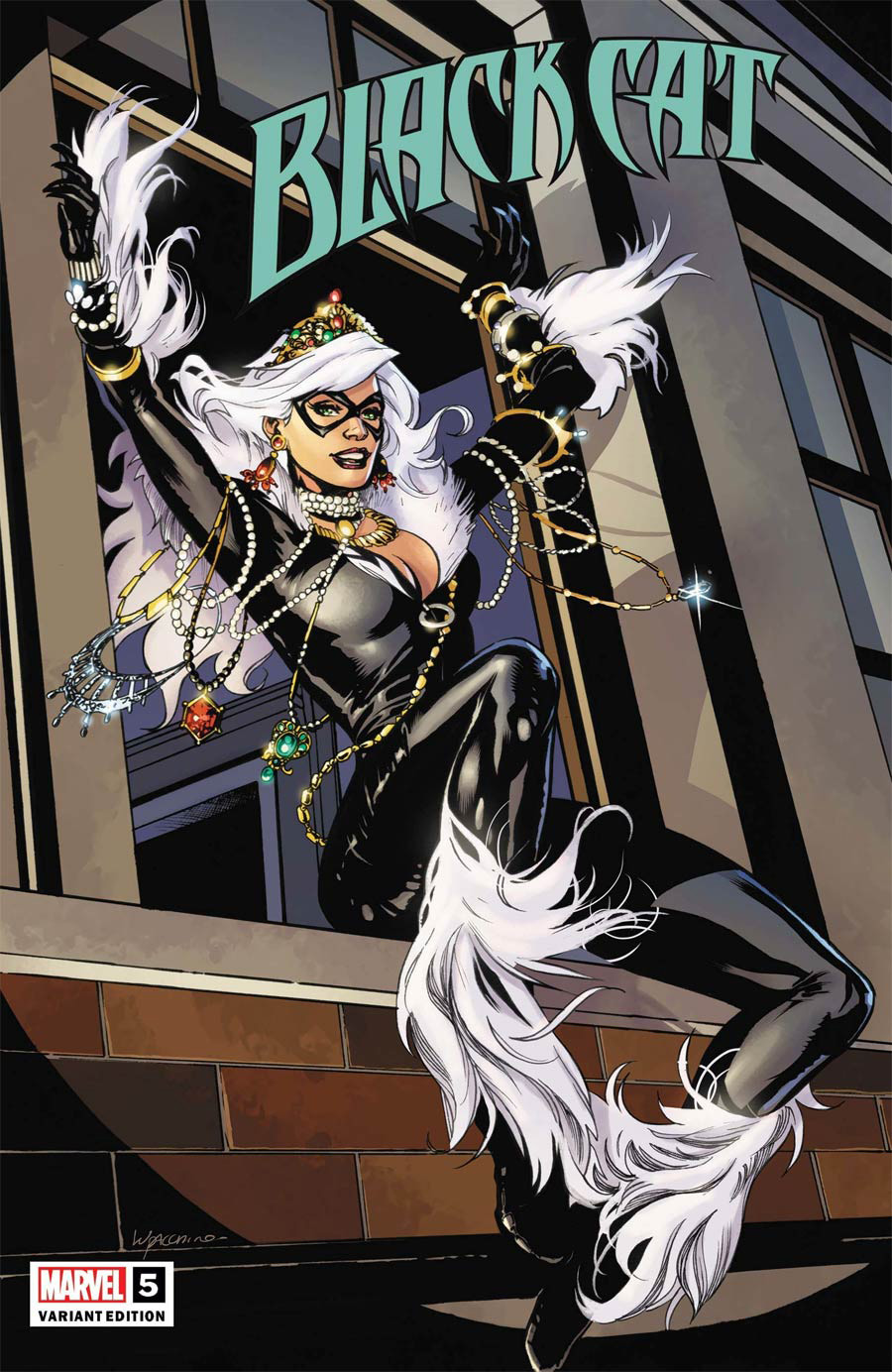 Black Cat Vol 2 #5 Cover C Incentive Emanuela Lupacchino Variant Cover