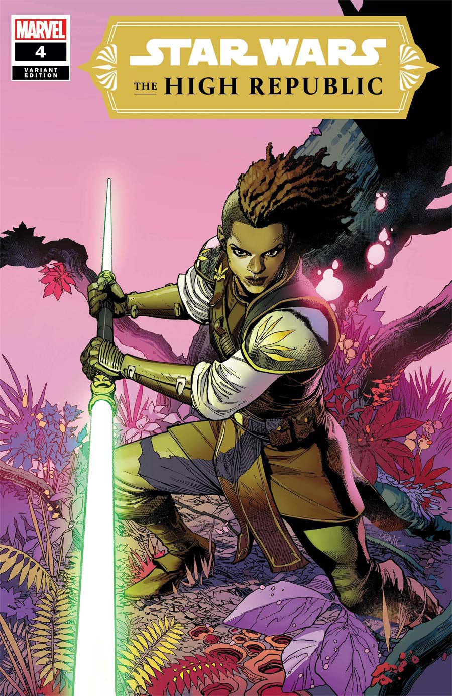 Star Wars High Republic #4 Cover C Incentive Leinil Francis Yu Variant Cover