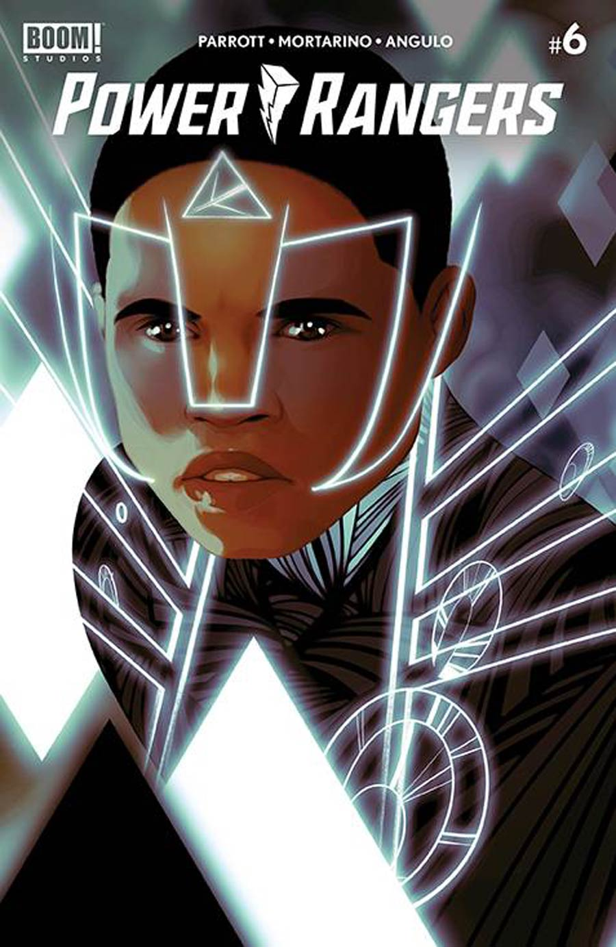 Power Rangers #6 Cover F Incentive Goni Montes Variant Cover