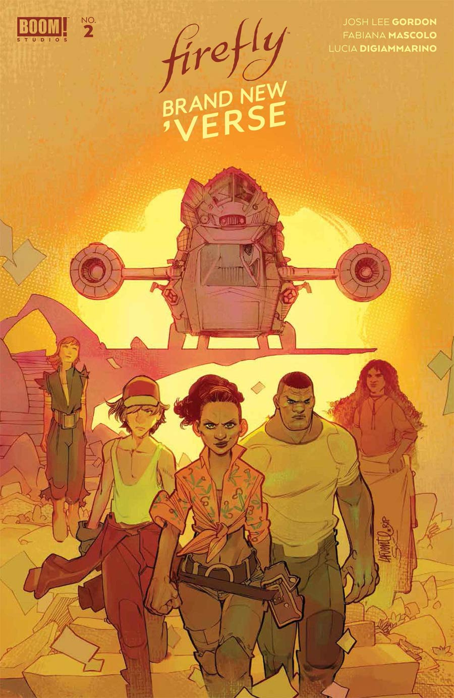 Firefly Brand New Verse #2 Cover C Incentive David Lafuente Variant Cover