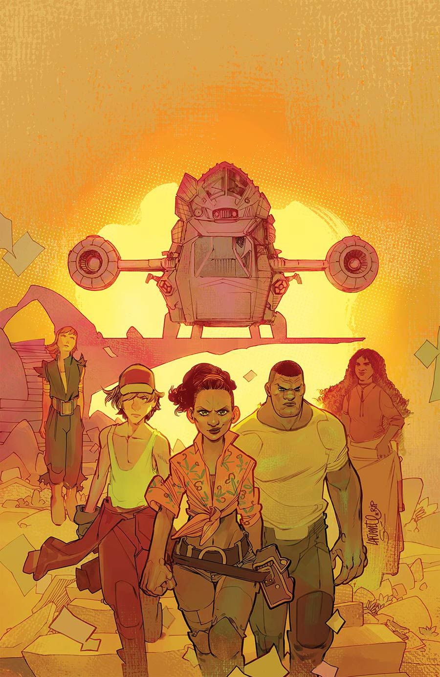 Firefly Brand New Verse #2 Cover D Incentive David Lafuente Virgin Variant Cover