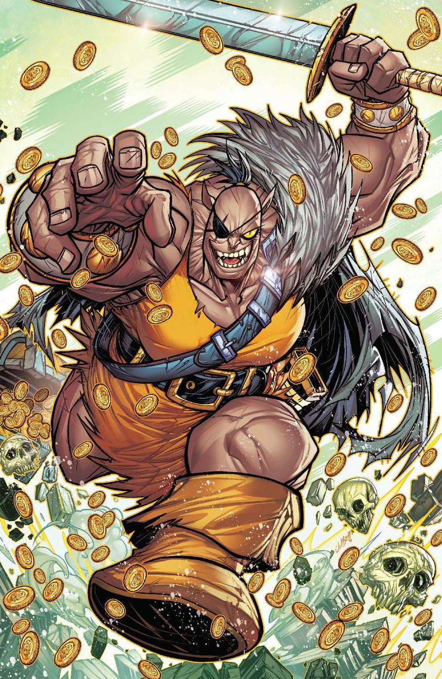 Orcs #3 Cover C Incentive Jonboy Meyers Virgin Variant Cover