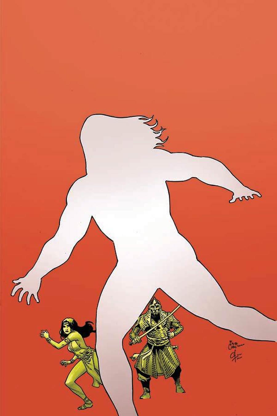 Cimmerian Iron Shadows In The Moon #1 Cover I Incentive Fritz Casas Fantastic Four 234 Parody Virgin Cover