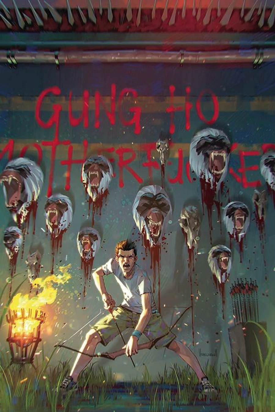 Gung-Ho Sexy Beast #4 Cover E Incentive Kael Ngu Virgin Cover