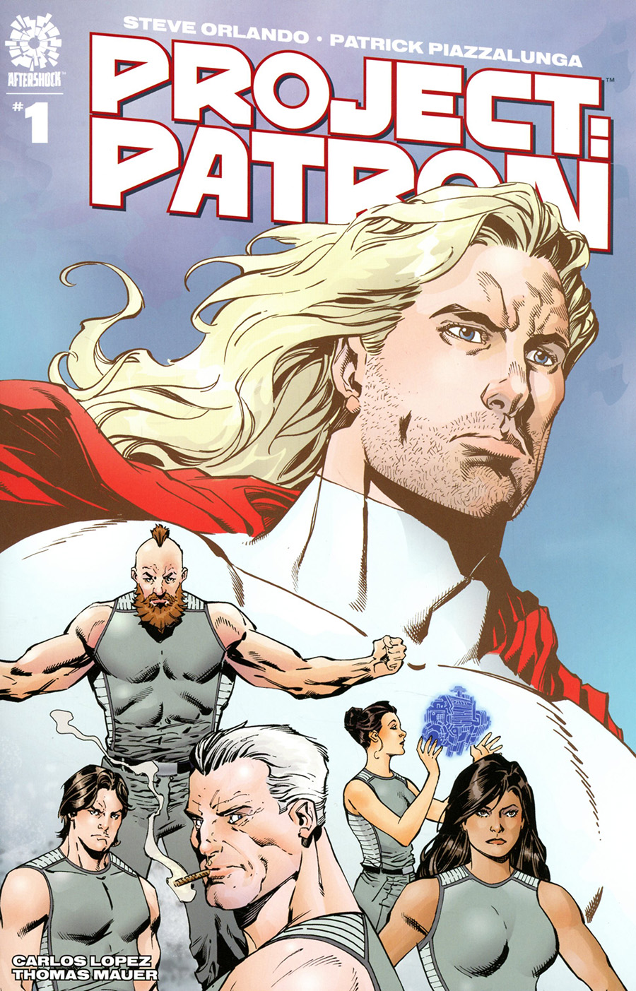 Project Patron #1 Cover B Incentive Aaron Lopresti Variant Cover