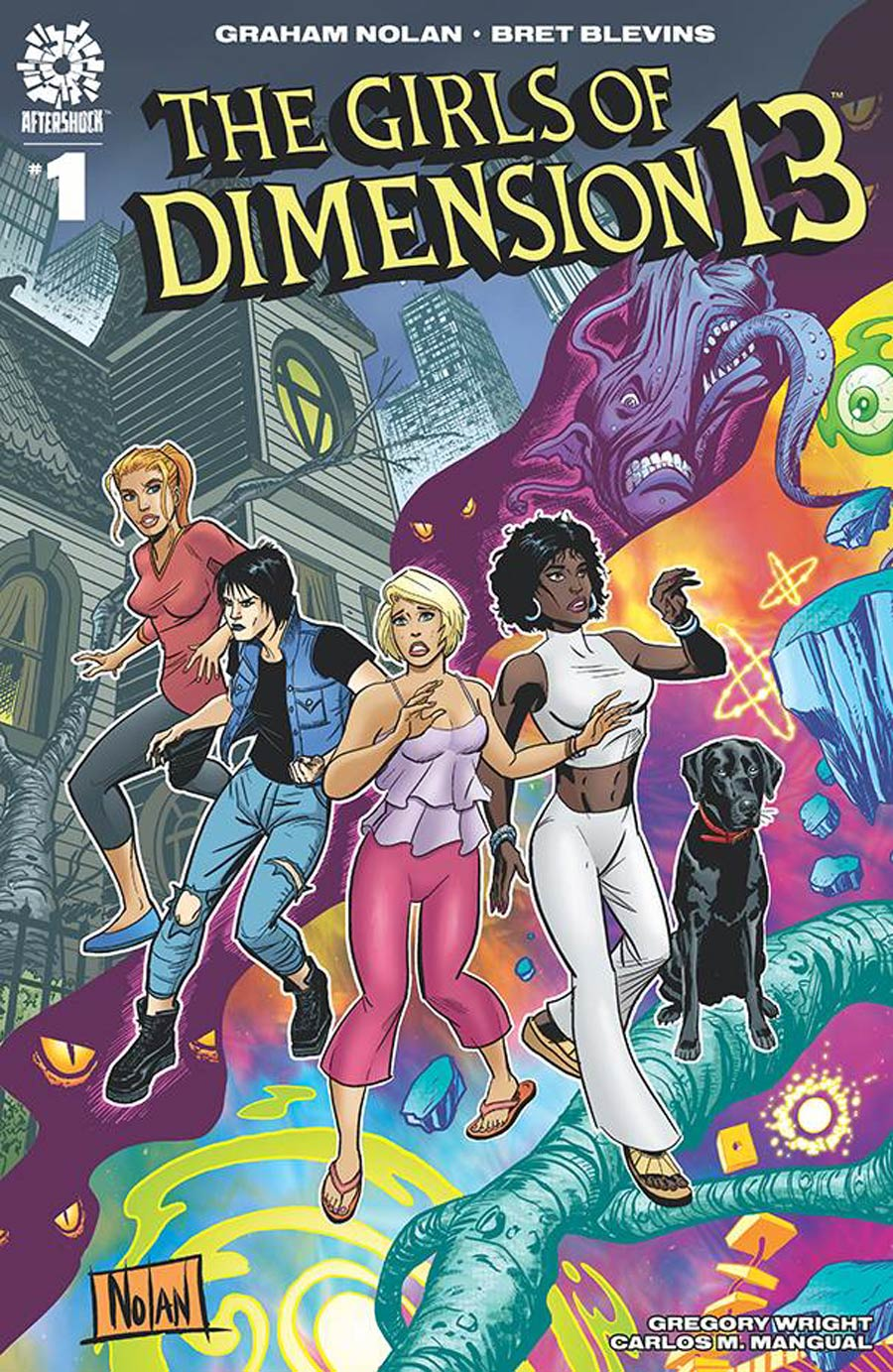 Girls Of Dimension 13 #1 Cover B Incentive Graham Nolan & Greg Wright Variant Cover