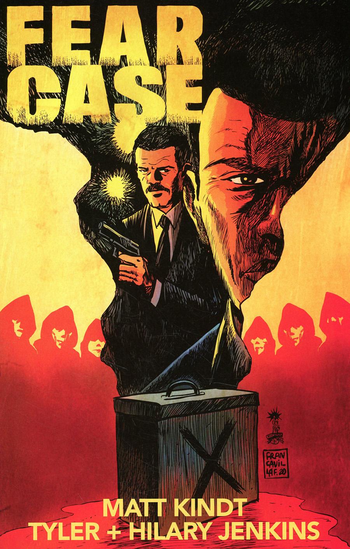 Fear Case #1 Cover C Variant Francesco Francavilla Cover