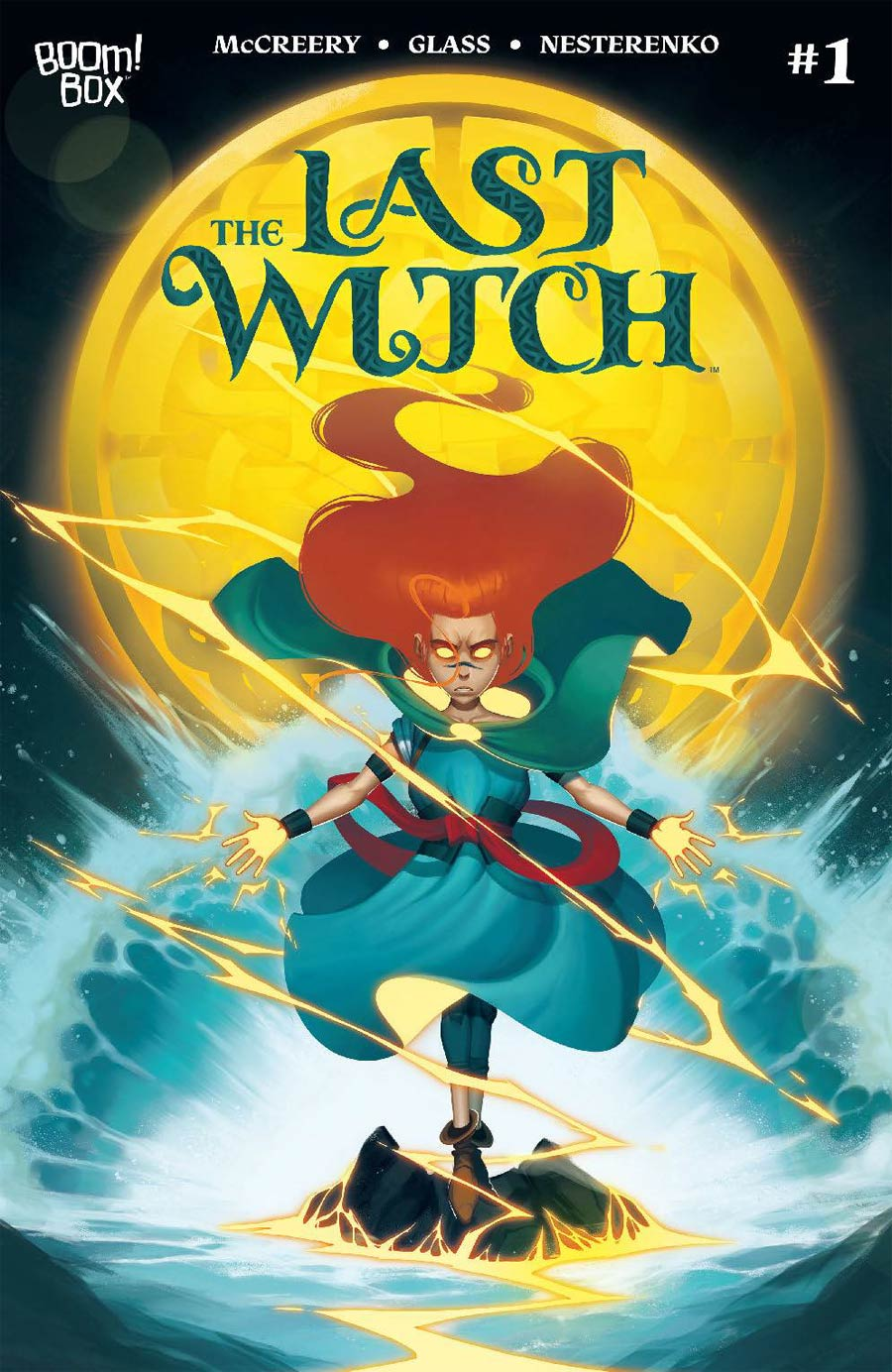 Last Witch #1 Cover F 2nd Ptg
