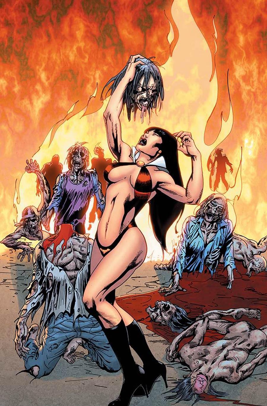 Vengeance Of Vampirella Vol 2 #14 Cover H Incentive Roberto Castro Virgin Cover