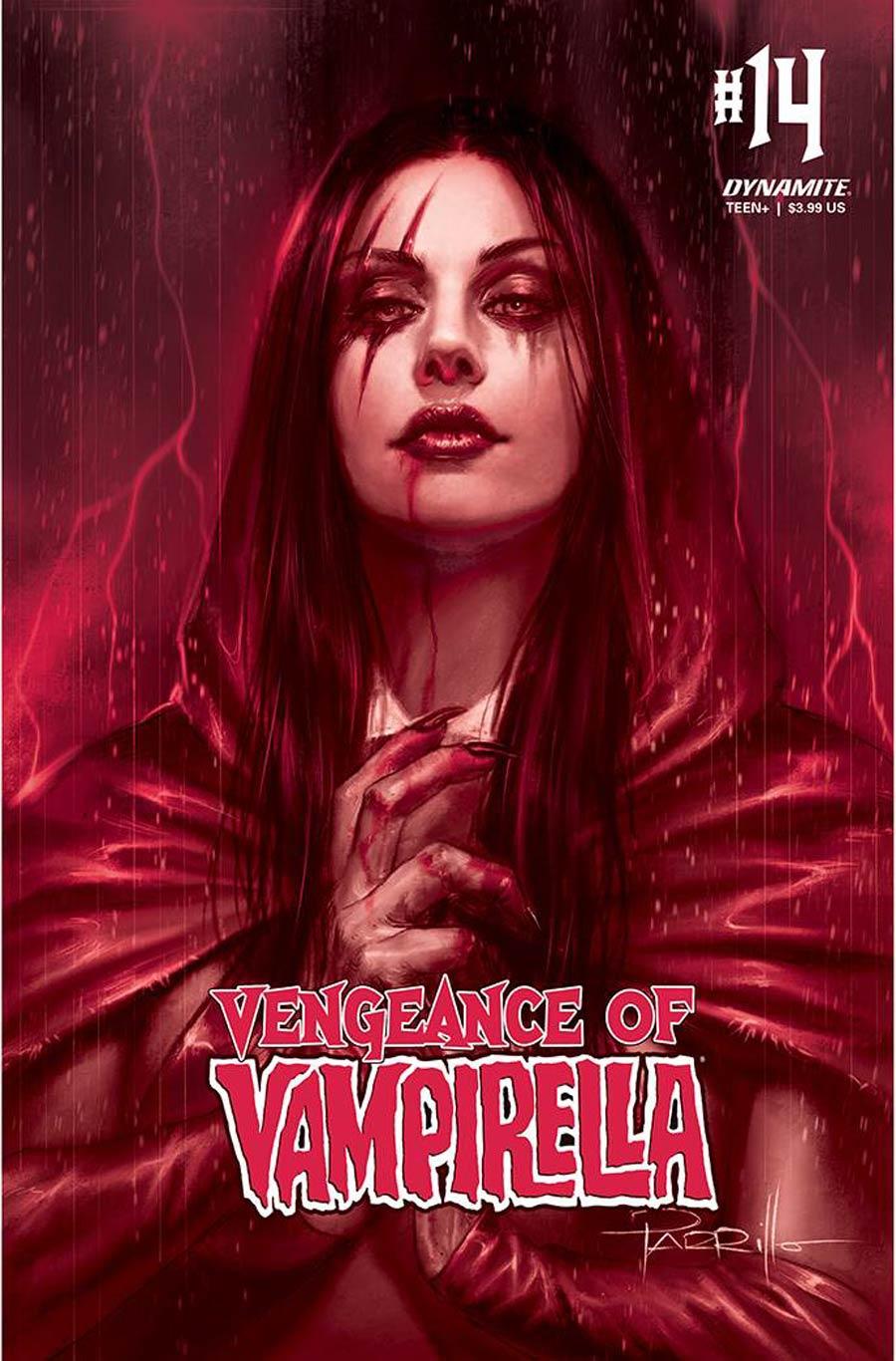 Vengeance Of Vampirella Vol 2 #14 Cover M Incentive Lucio Parrillo Tint Cover