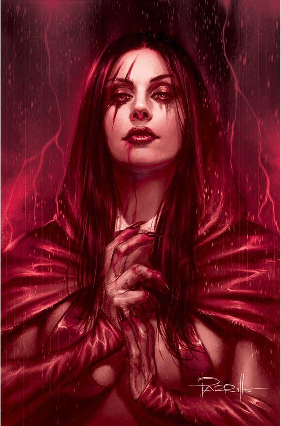 Vengeance Of Vampirella Vol 2 #14 Cover N Incentive Lucio Parrillo Tint Virgin Cover