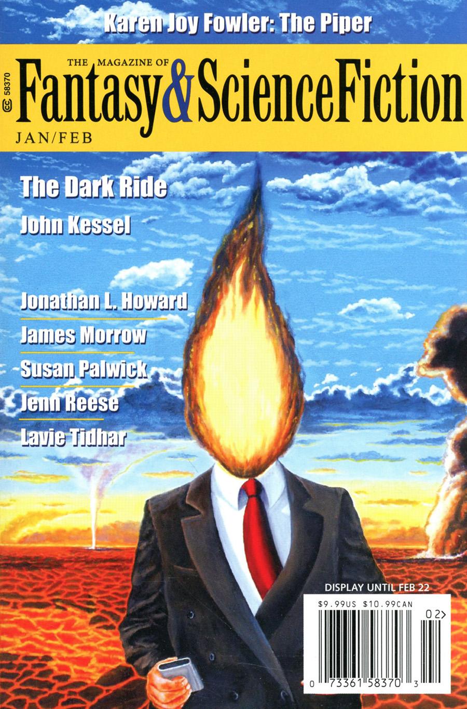 Fantasy & Science Fiction Digest Vol 140 #1 & 2 January / February 2021