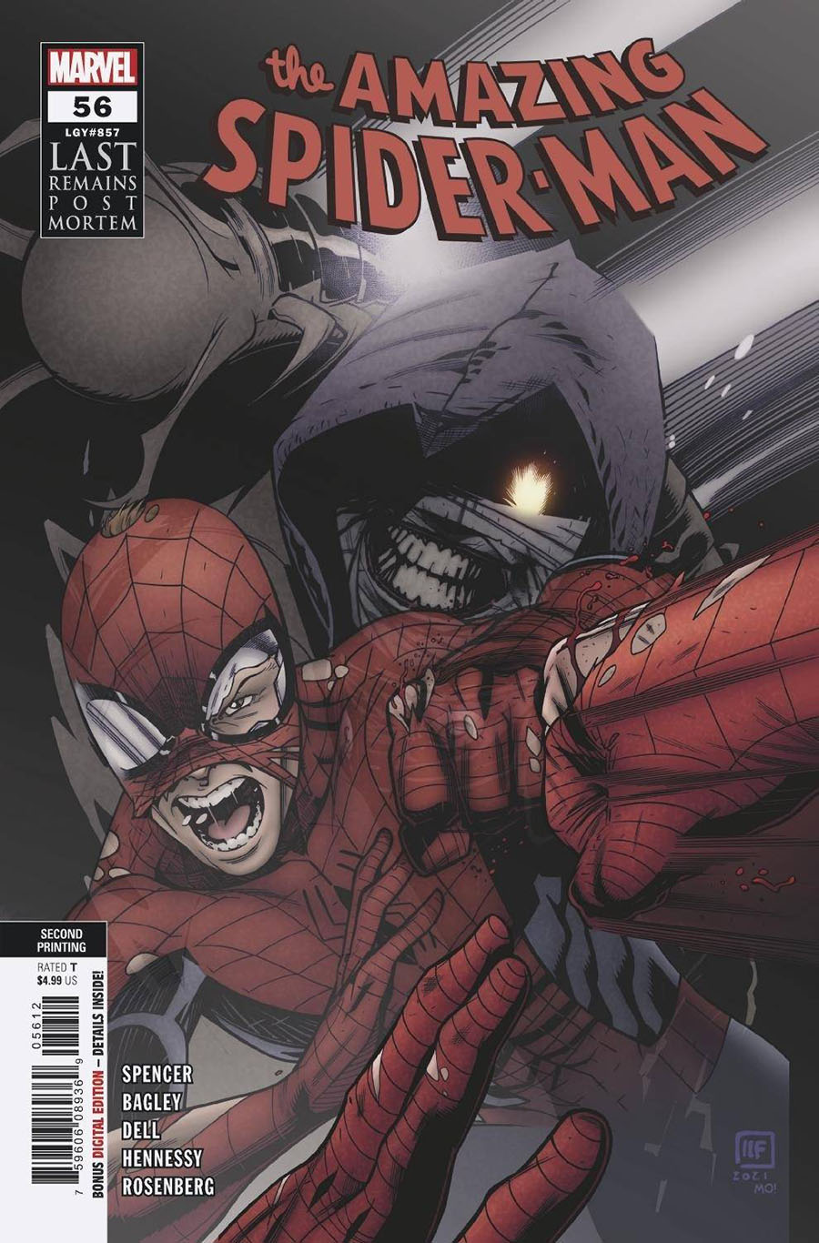 Amazing Spider-Man Vol 5 #56 Cover D 2nd Ptg Variant Cover