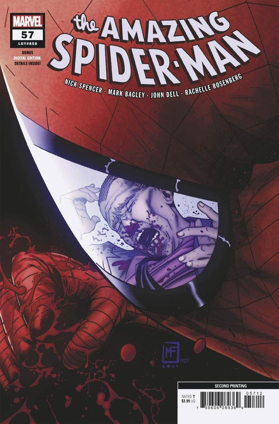 Amazing Spider-Man Vol 5 #57 Cover C 2nd Ptg Marcelo Ferreira Variant Cover