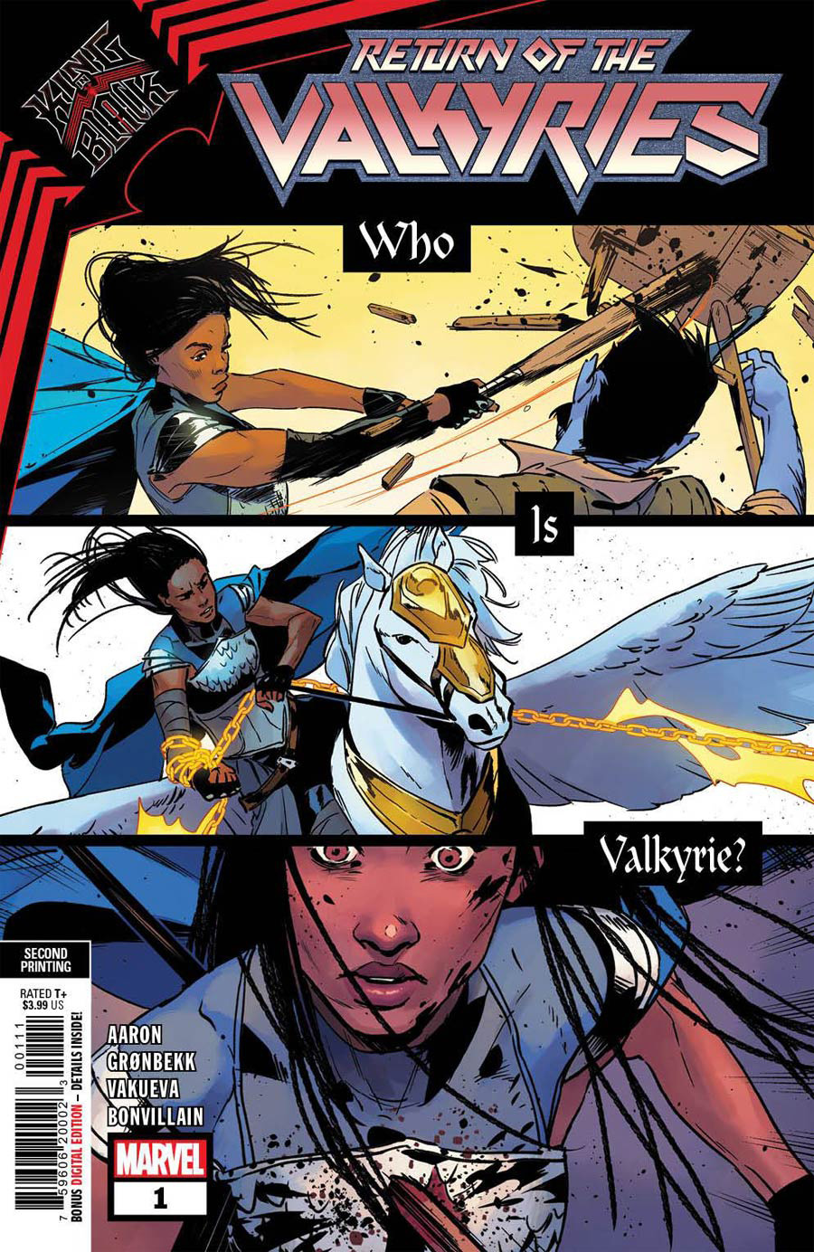 King In Black Return Of The Valkyries #1 Cover I 2nd Ptg Variant Cover