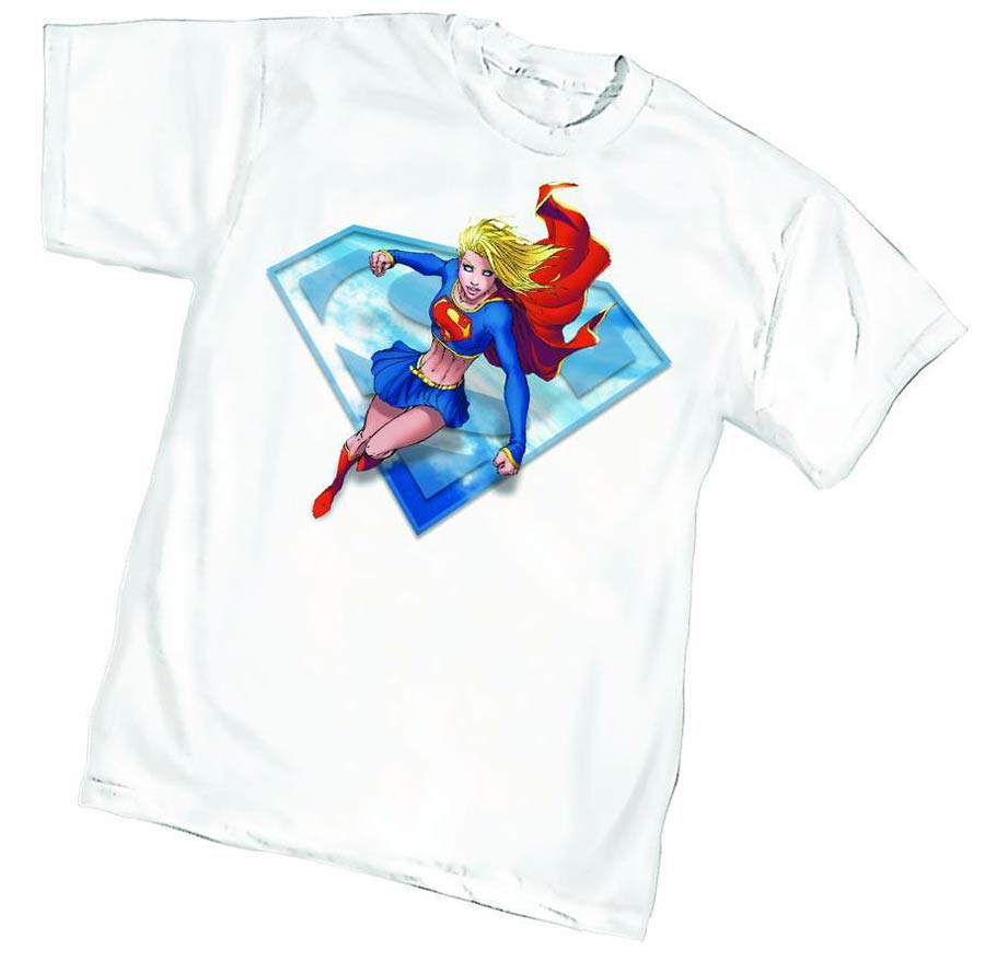 Supergirl By Michael Turner T-Shirt Large