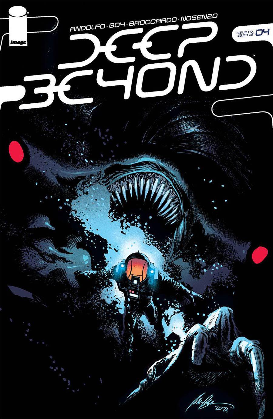 Deep Beyond #4 Cover C Variant Rafael Albuquerque Cover