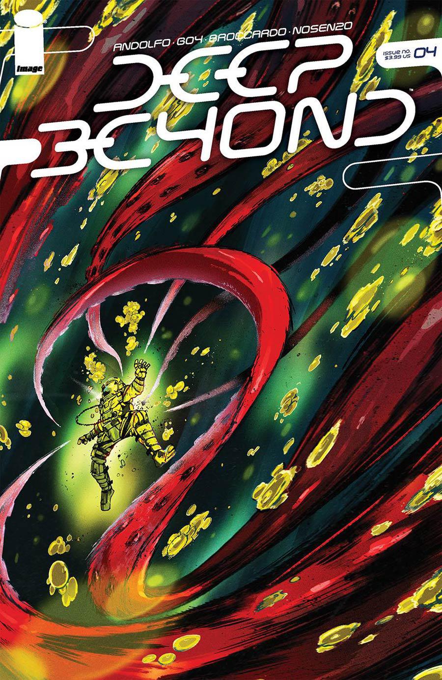 Deep Beyond #4 Cover D Variant Ricardo Lopez Ortiz Cover
