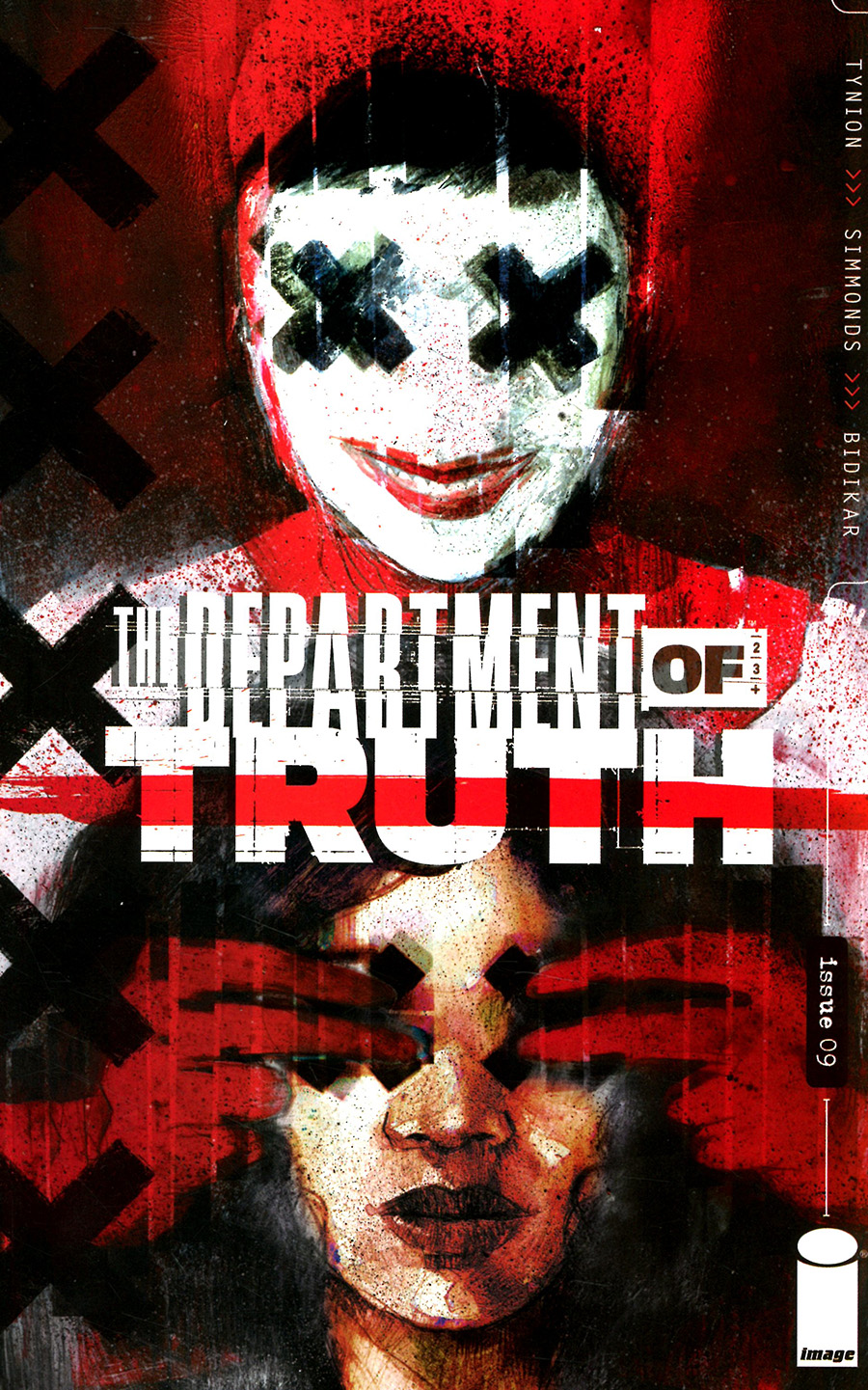 Department Of Truth #9 Cover A Regular Martin Simmonds Cover