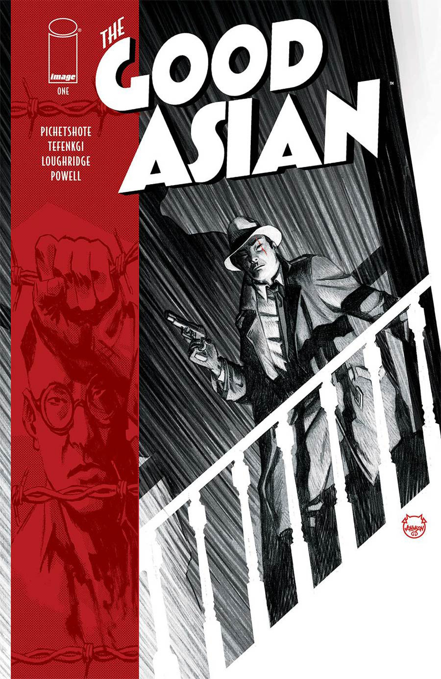 Good Asian #1 Cover A Regular Dave Johnson Cover