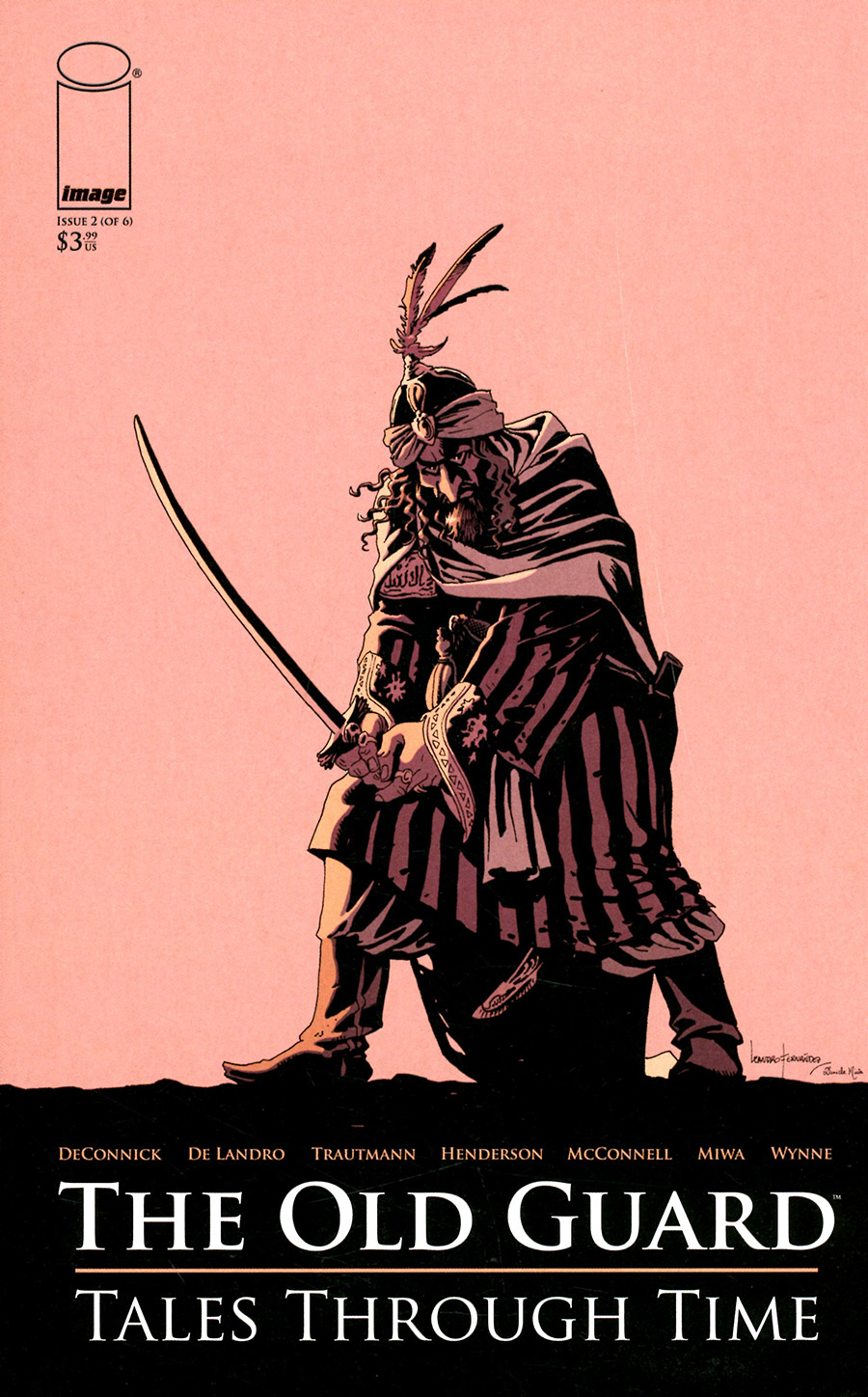 Old Guard Tales Through Time #2 Cover A Regular Leandro Fernandez Cover