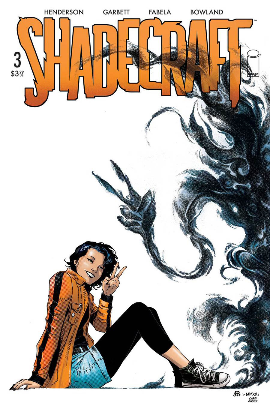 Shadecraft #3 Cover B Variant Jim Cheung Cover