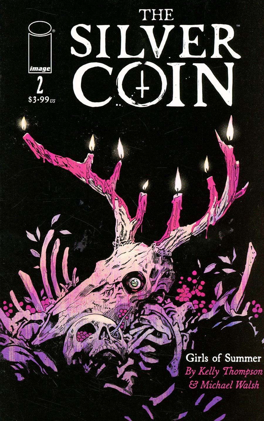 Silver Coin #2 Cover A Regular Michael Walsh Cover