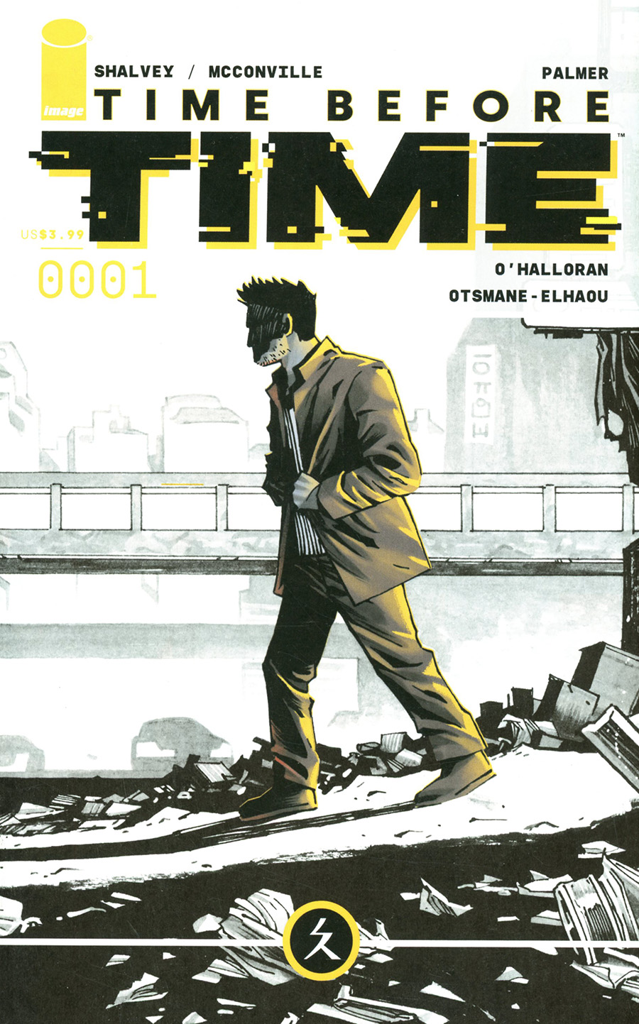 Time Before Time #1 Cover A Regular Declan Shalvey Cover