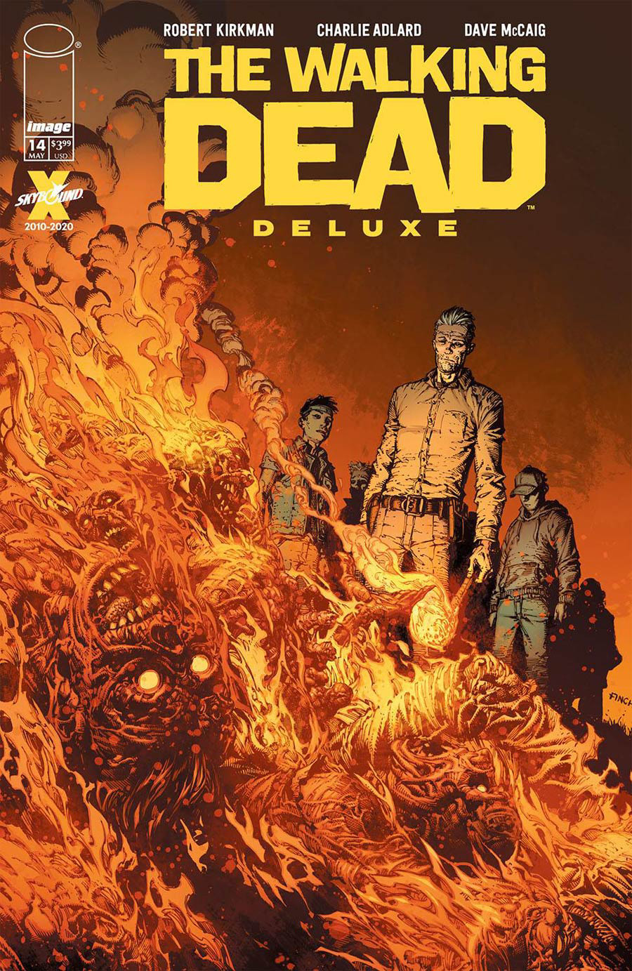 Walking Dead Deluxe #14 Cover A Regular David Finch & Dave McCaig Cover