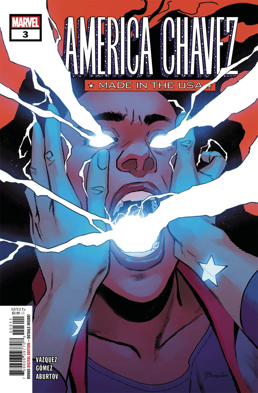 America Chavez Made In The USA #3 Cover A Regular Sara Pichelli Cover