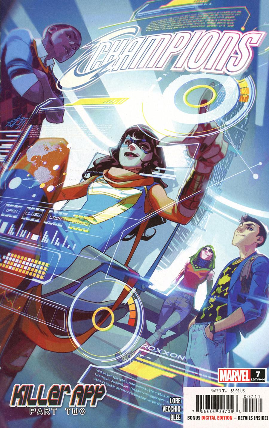 Champions (Marvel) Vol 4 #7