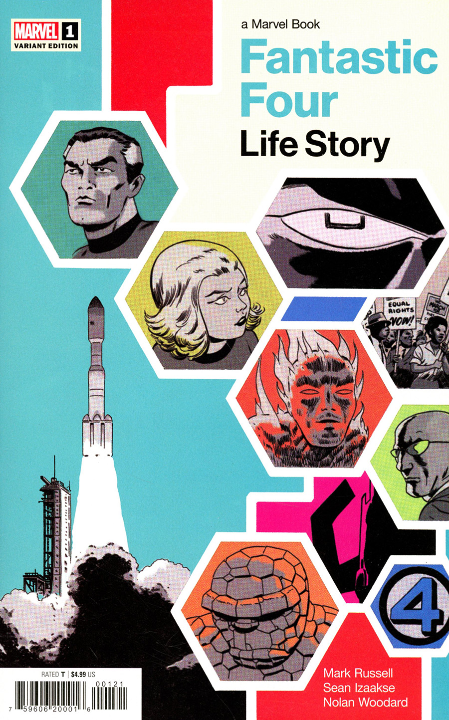 Fantastic Four Life Story #1 Cover B Variant Marcos Martin Cover