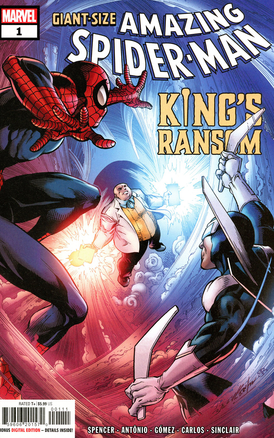 Giant-Size Amazing Spider-Man Kings Ransom #1 (One Shot) Cover A Regular Mark Bagley Cover