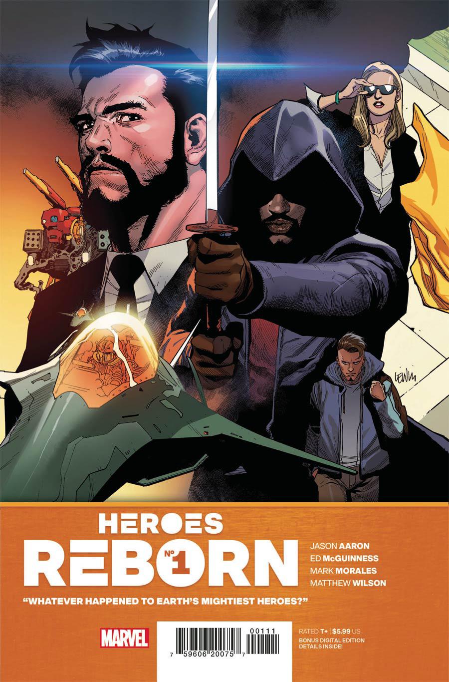 Heroes Reborn #1 Cover A Regular Leinil Francis Yu Cover