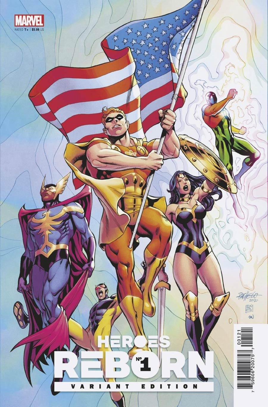 Heroes Reborn #1 Cover E Variant Carlos Pacheco Squadron Supreme Cover
