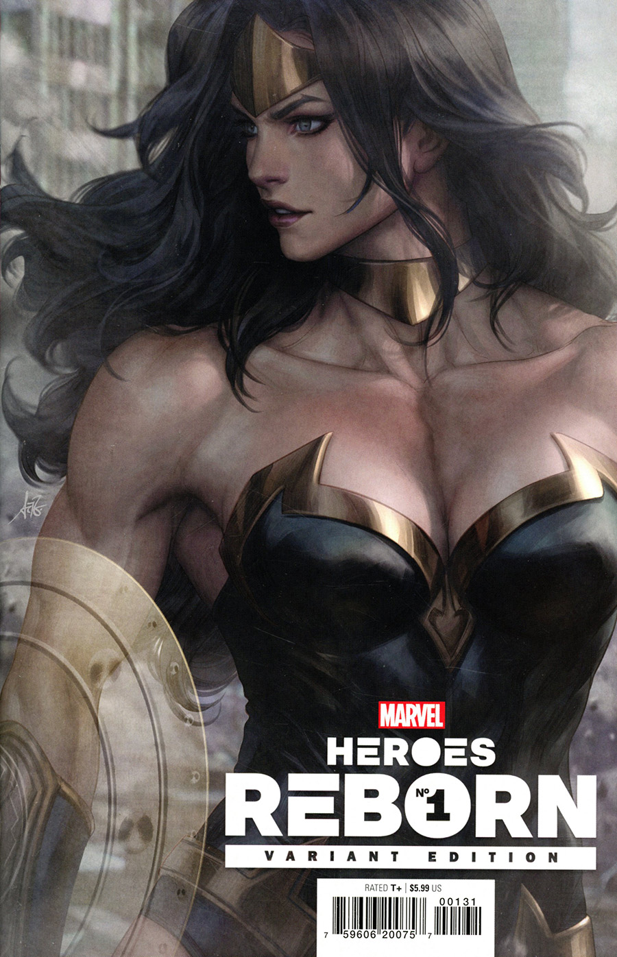 Heroes Reborn #1 Cover F Variant Stanley Artgerm Lau Cover