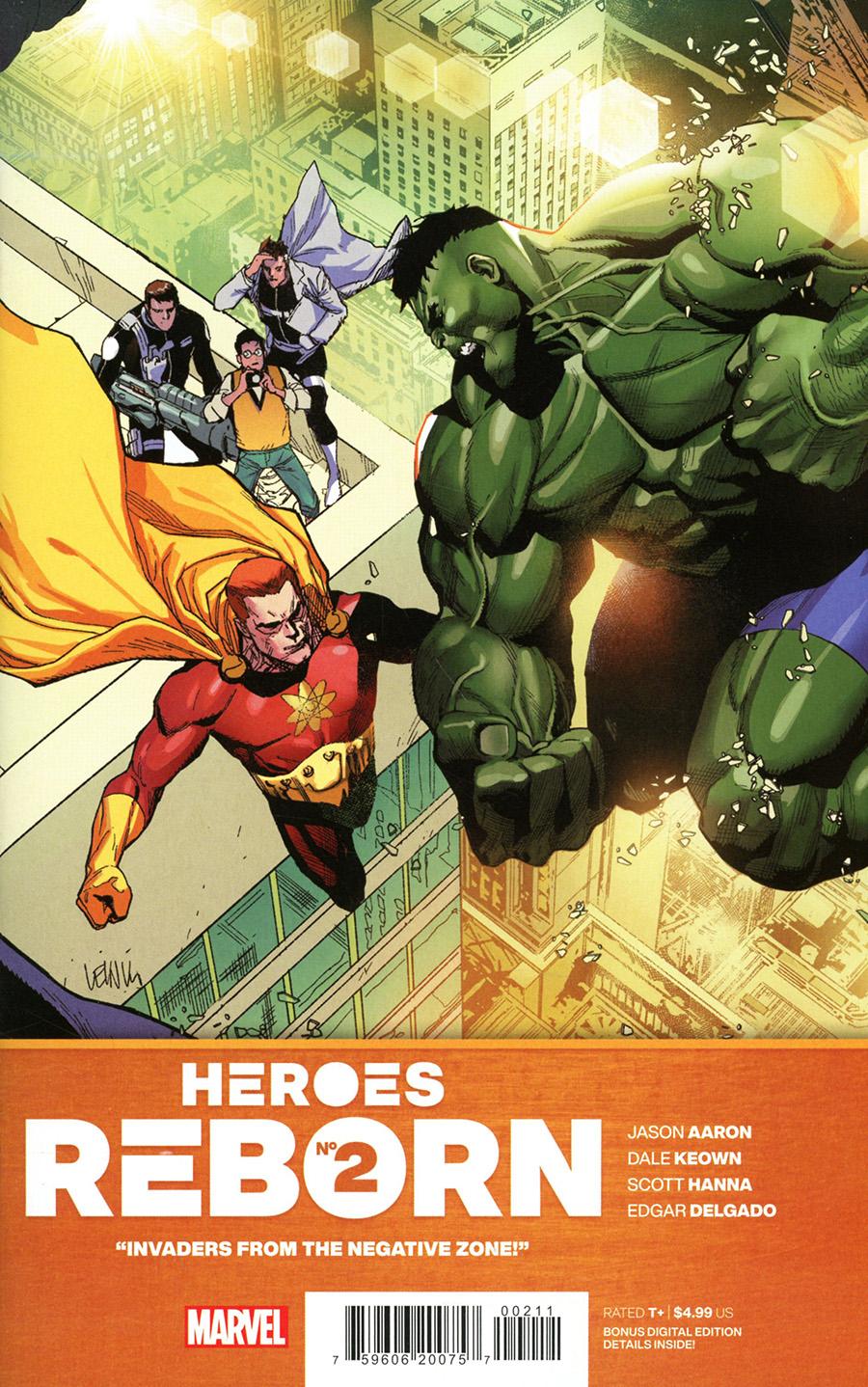 Heroes Reborn #2 Cover A Regular Leinil Francis Yu Cover