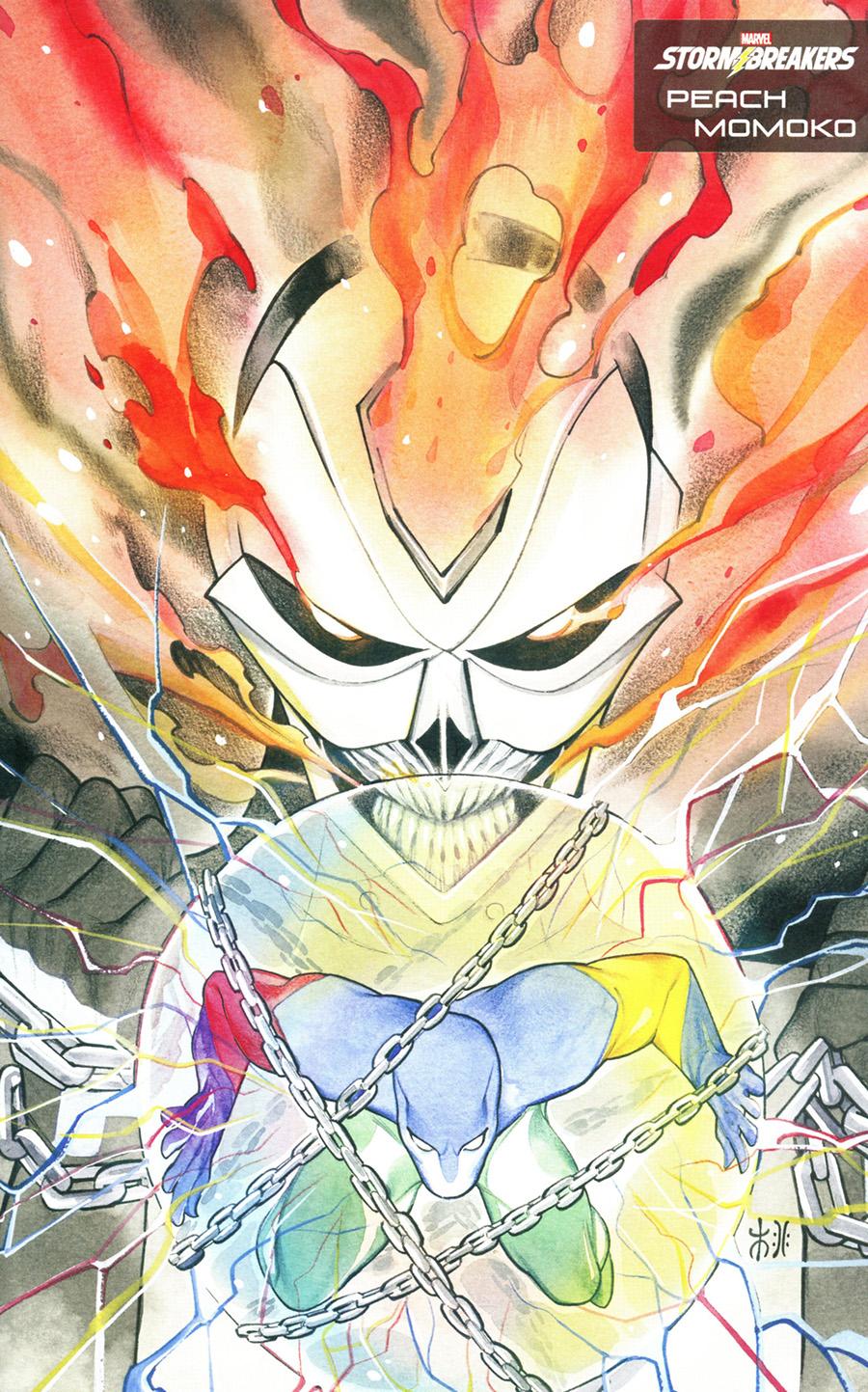 Heroes Reborn #3 Cover D Variant Peach Momoko Stormbreakers Cover