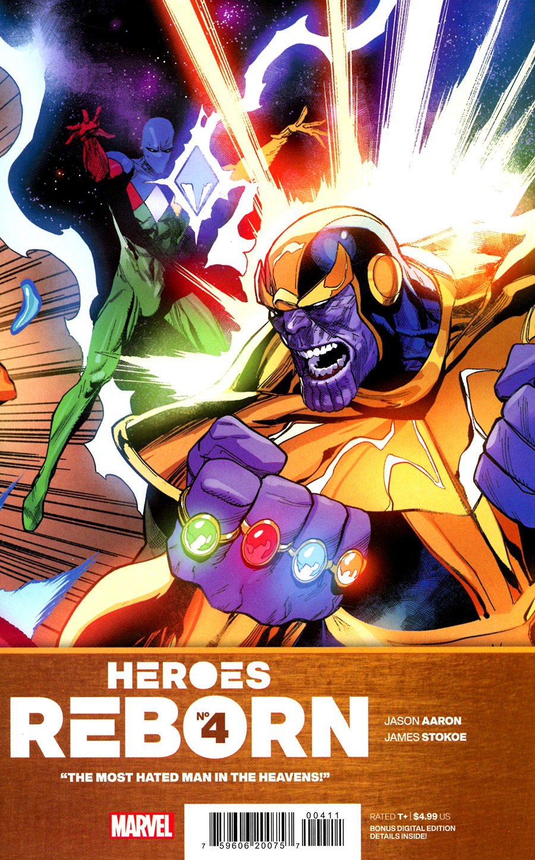 Heroes Reborn #4 Cover A Regular Leinil Francis Yu Cover