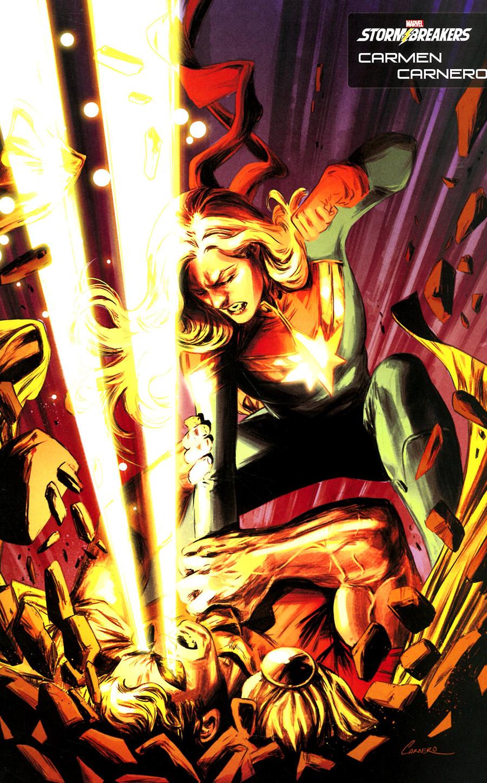 Heroes Reborn #4 Cover D Variant Carmen Carnero Stormbreakers Cover