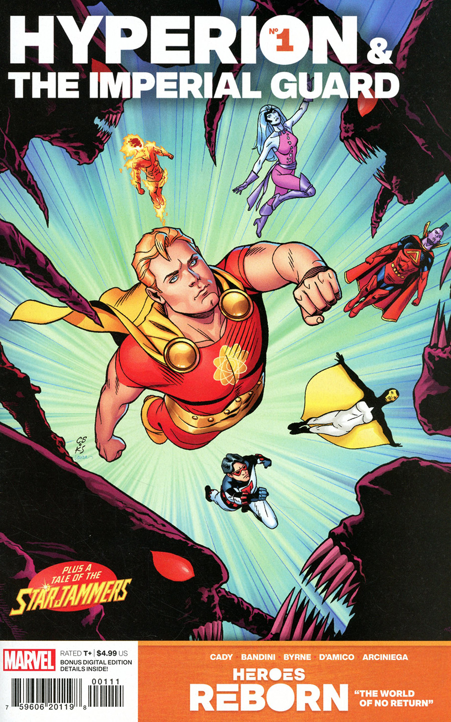 Heroes Reborn Hyperion And The Imperial Guard #1 (One Shot) Cover A Regular Chris Sprouse Cover