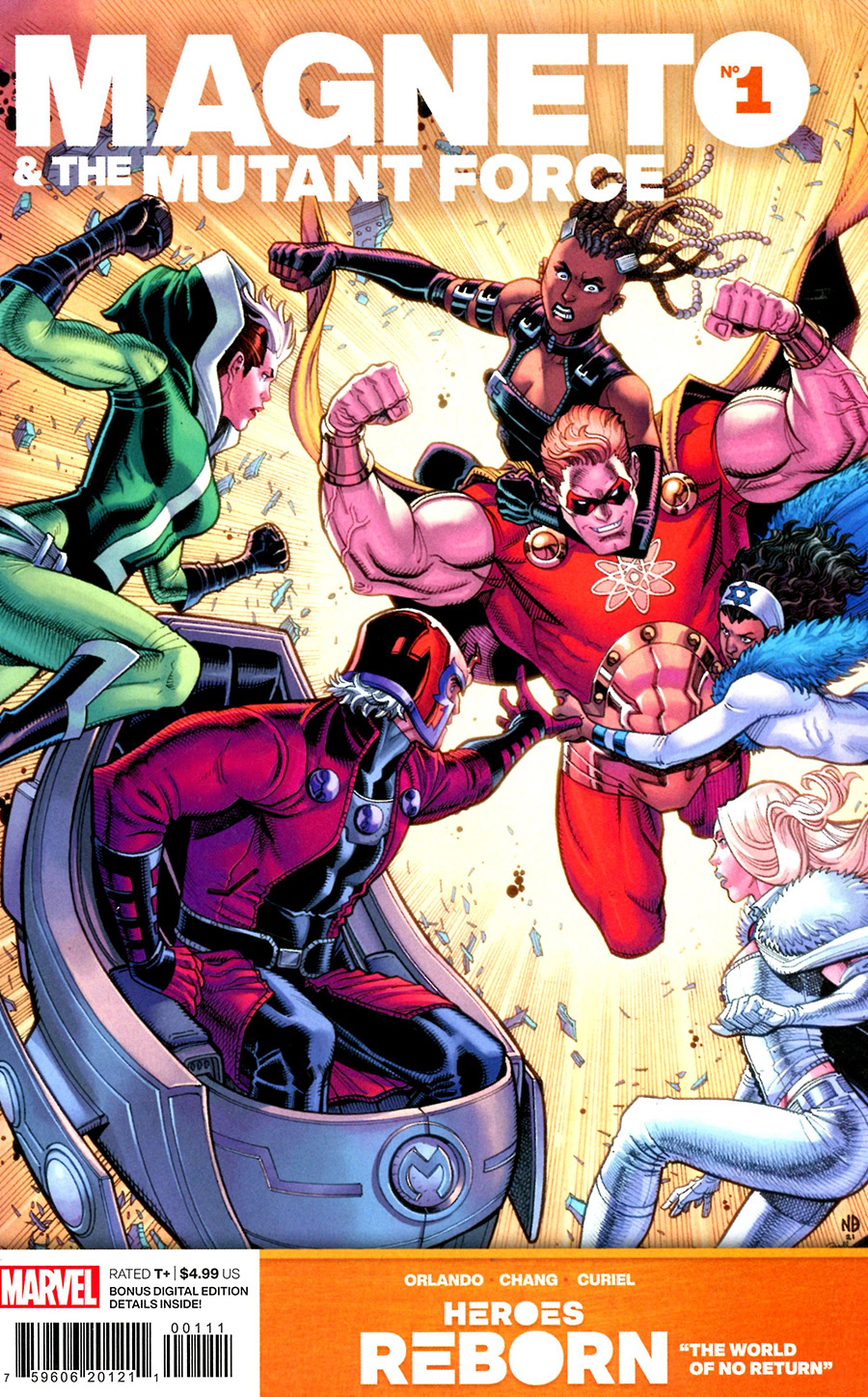 Heroes Reborn Magneto And The Mutant Force #1 (One Shot) Cover A Regular Nick Bradshaw Cover