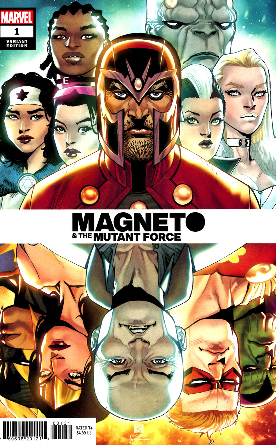 Heroes Reborn Magneto And The Mutant Force #1 (One Shot) Cover C Variant Bernard Chang Spoiler Cover
