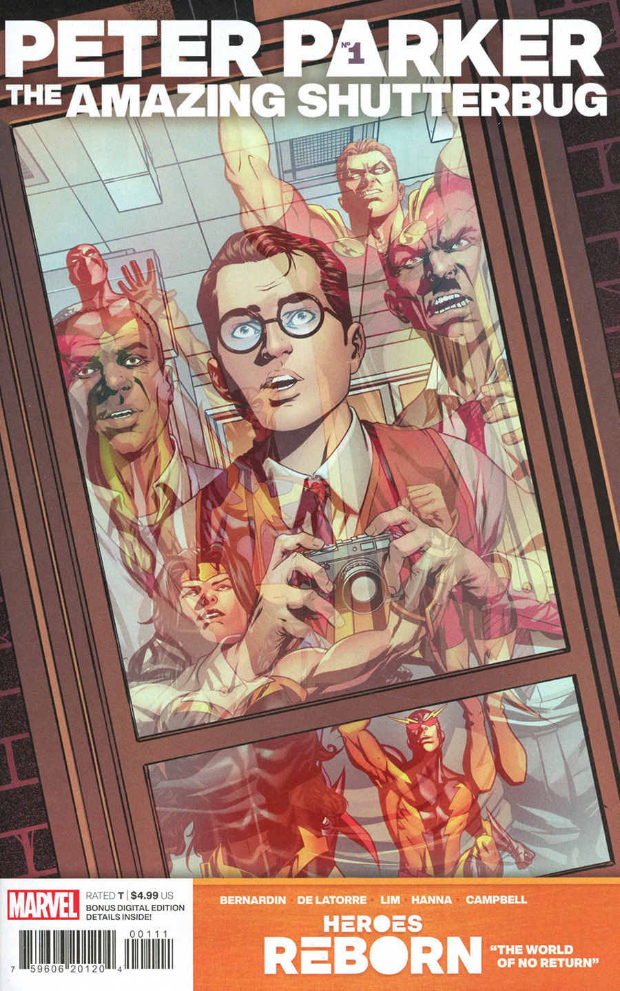 Heroes Reborn Peter Parker The Amazing Shutterbug #1 (One Shot) Cover A Regular Mike McKone Cover
