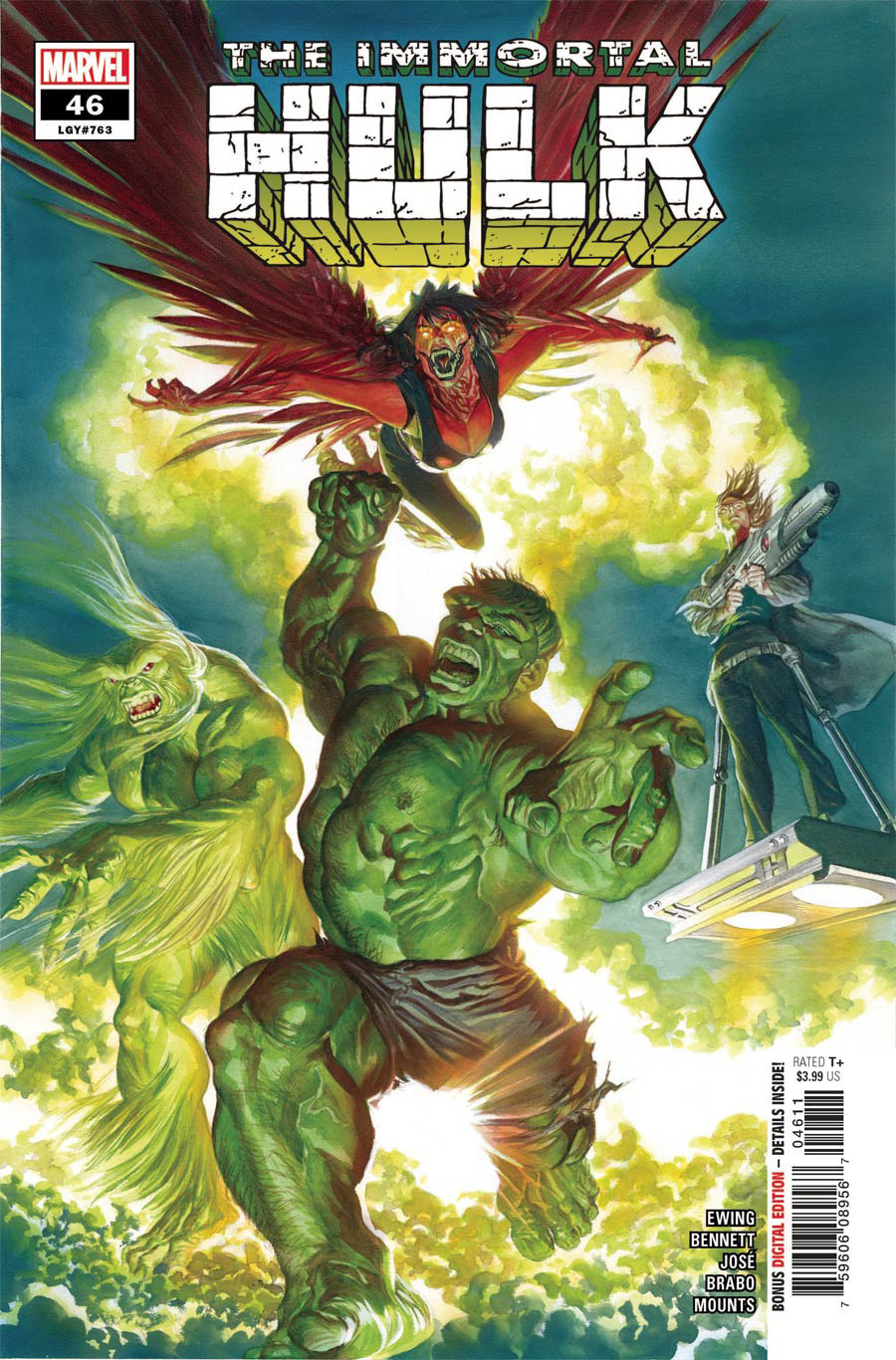 Immortal Hulk #46 Cover A Regular Alex Ross Cover
