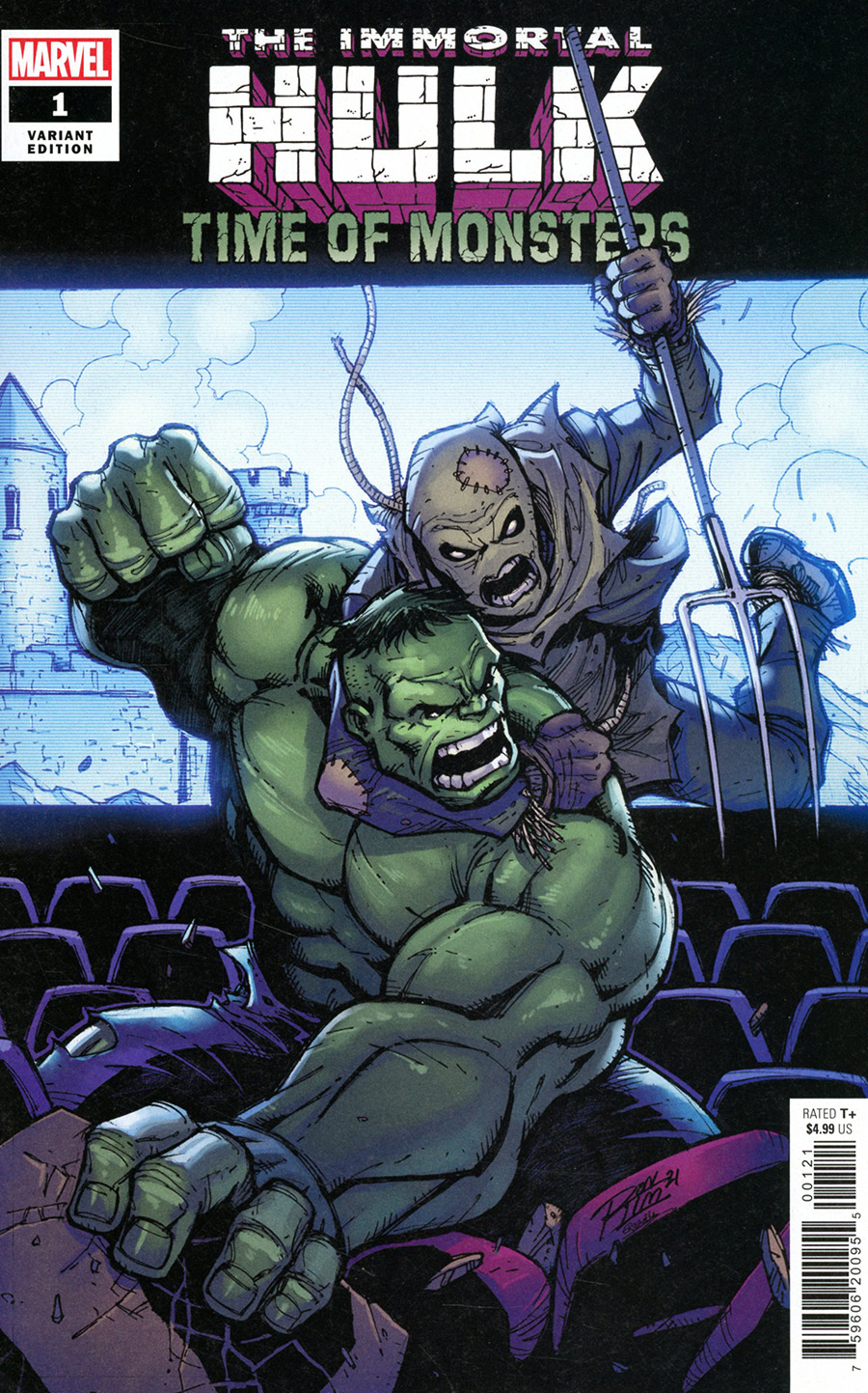 Immortal Hulk Time Of Monsters #1 (One Shot) Cover B Variant Ron Lim Cover