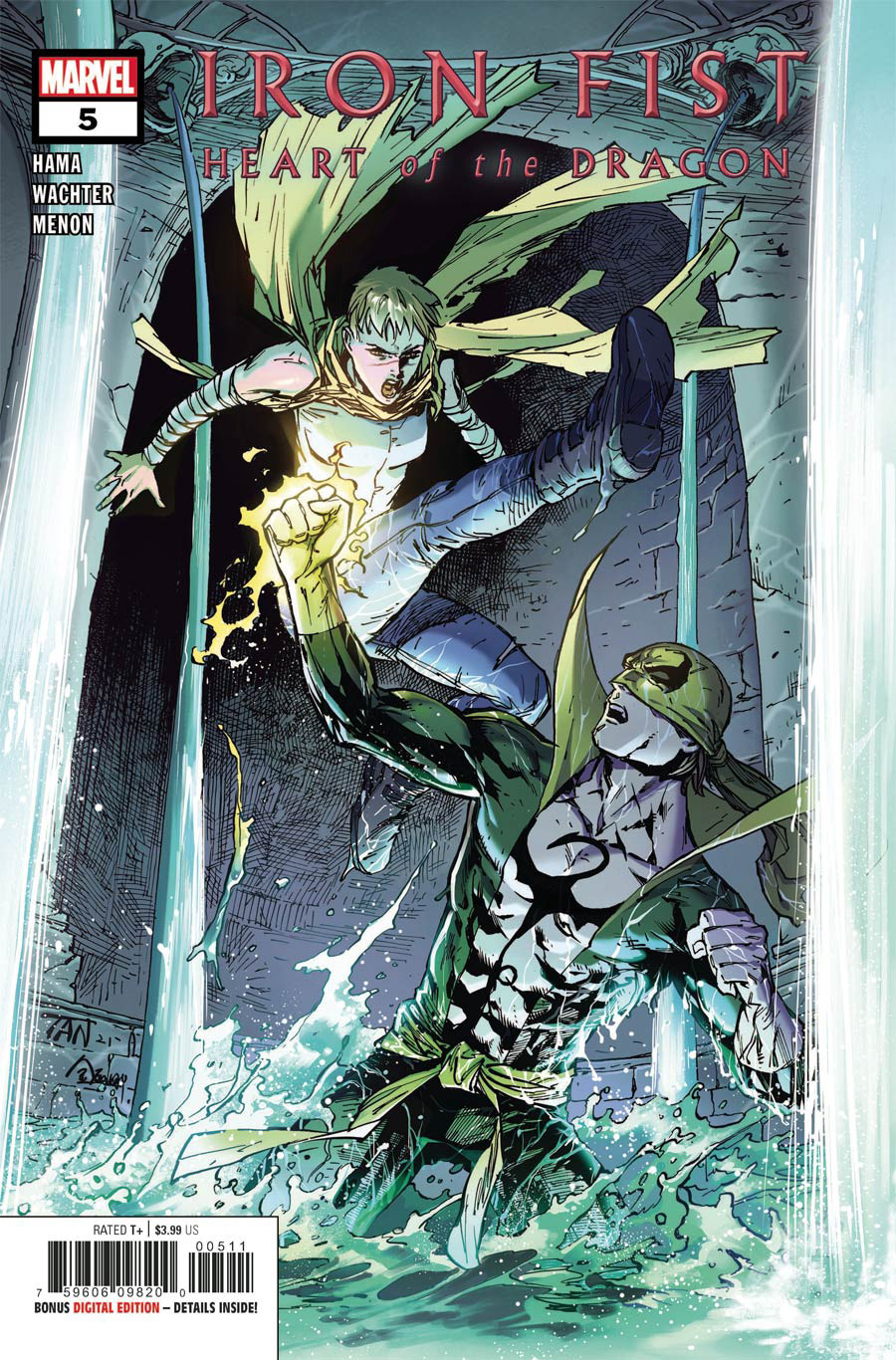 Iron Fist Heart Of The Dragon #5 Cover A Regular Billy Tan Cover (Limit 1 Per Customer)