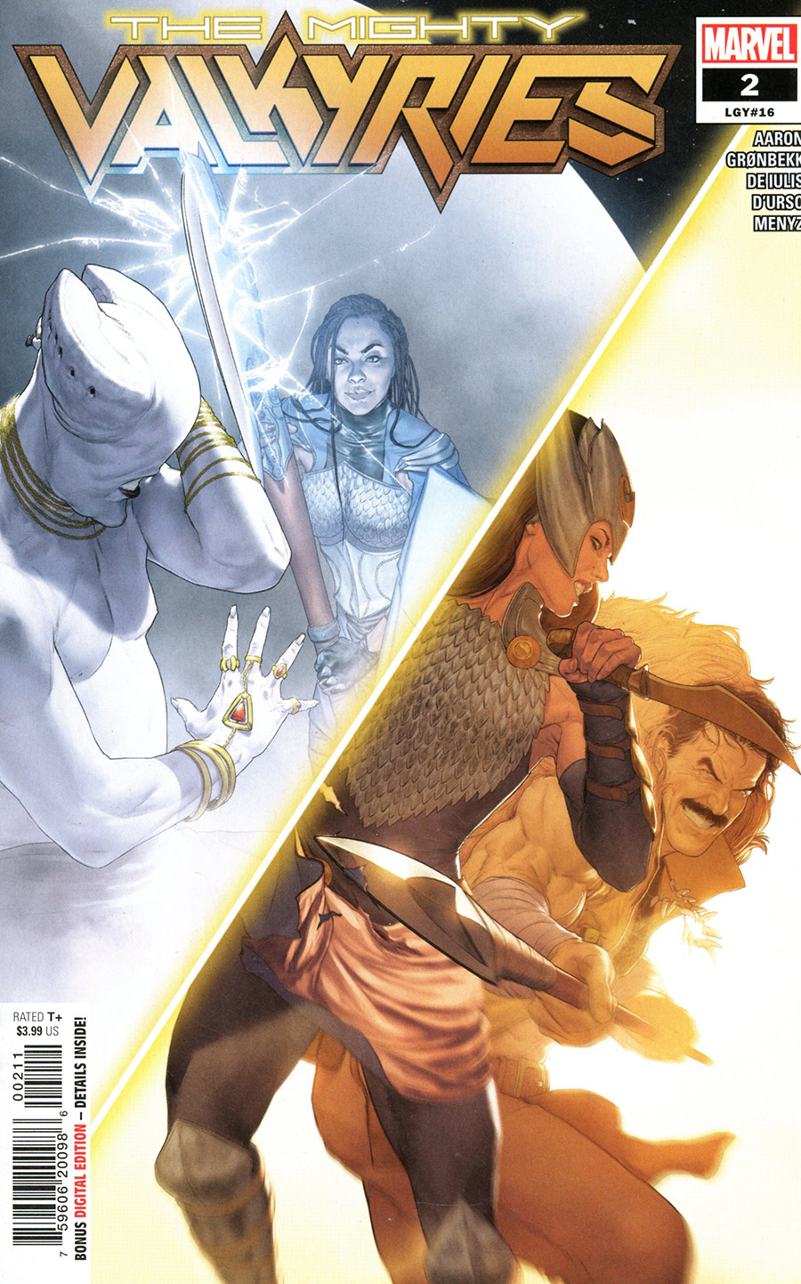 Mighty Valkyries #2 Cover A Regular Mattia De Iulis Cover