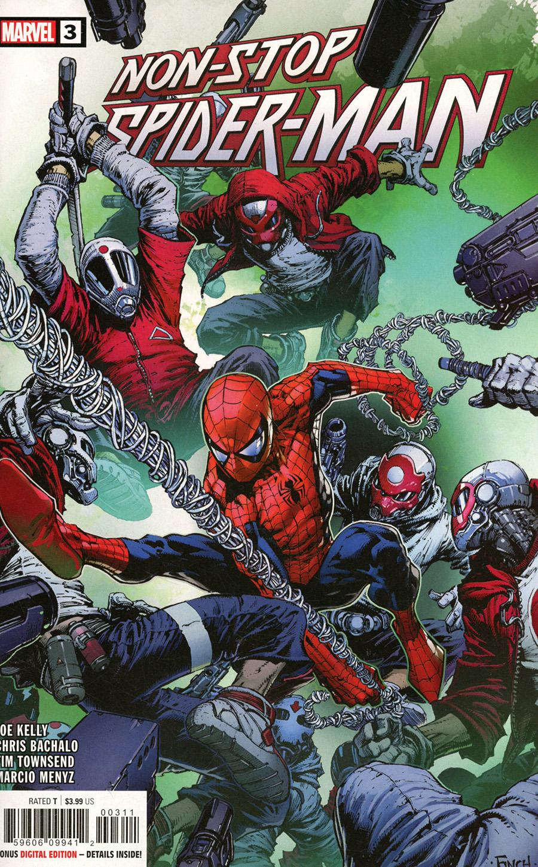 Non-Stop Spider-Man #3 Cover A Regular David Finch Cover